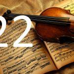 Fotoakustikplatte mit Geige...