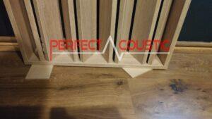 Warum sind die akustischen Elemente des Perfect Acoustic Diffusors langlebig und praktisch