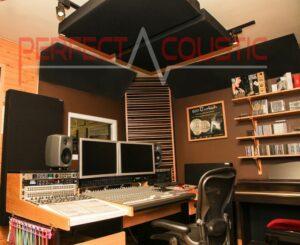 Dekorativer raumakustik absorbator-Studio akustik-Management.