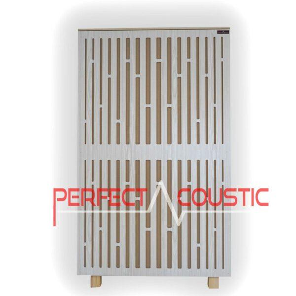 Diffusor-Frontplatte Akustikplatte in Weiß (2)