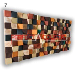 Kunst Akustik Diffusor 7 Farbmuster, vorne. (4)Wenn das Aussehen wichtig ist