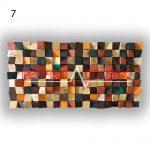 Kunst Akustik Diffusor 7 Farbmuster, vorne. (5)
