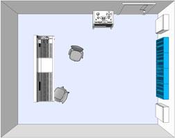 Wandmontage von Flexi-Akustik diffusoren
