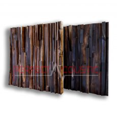 Akustik diffusoren aus edlem Holz