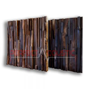Akustik diffusor aus edlem Holz