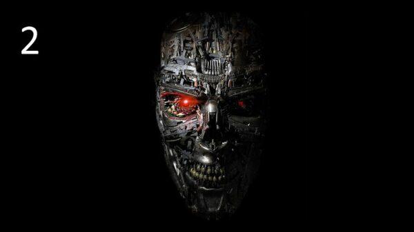 Akustik-Panel-Terminator gedruckt
