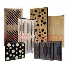 Akustikplatten mit Diffusor