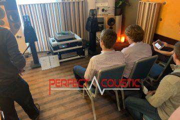 Akustische Diffusoren für Core-Audio.