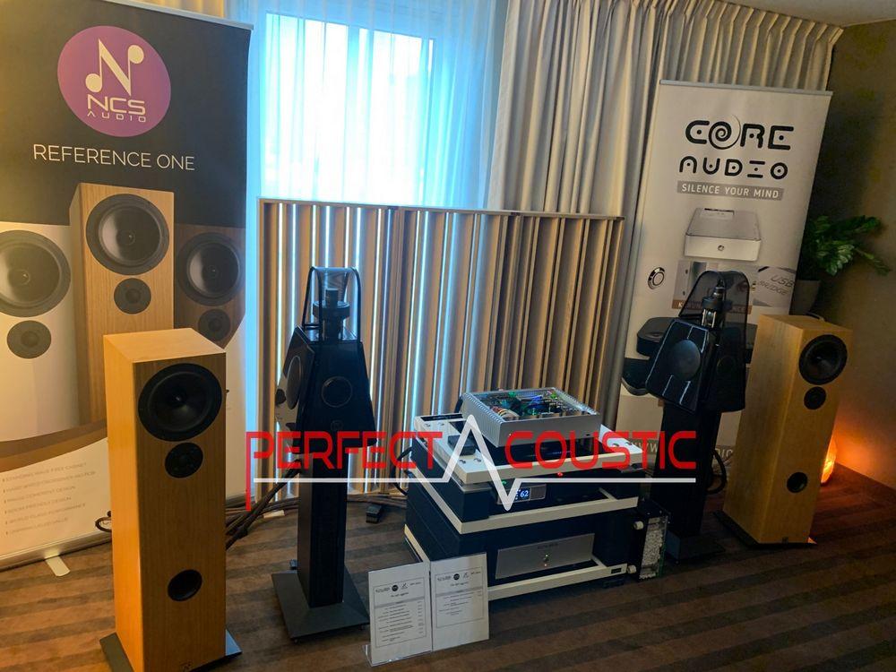 Akustische Diffusor für Core-Audio..Säulenförmige
