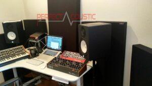 Akustische Messung vor Ort...