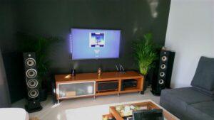 Akustischer Absorber im HiFi-Raum