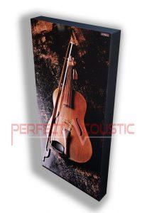 Bedruckte Akustikplatte mit Instrument