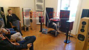 Diffusor Akustikplatten in Baraby Gabeln