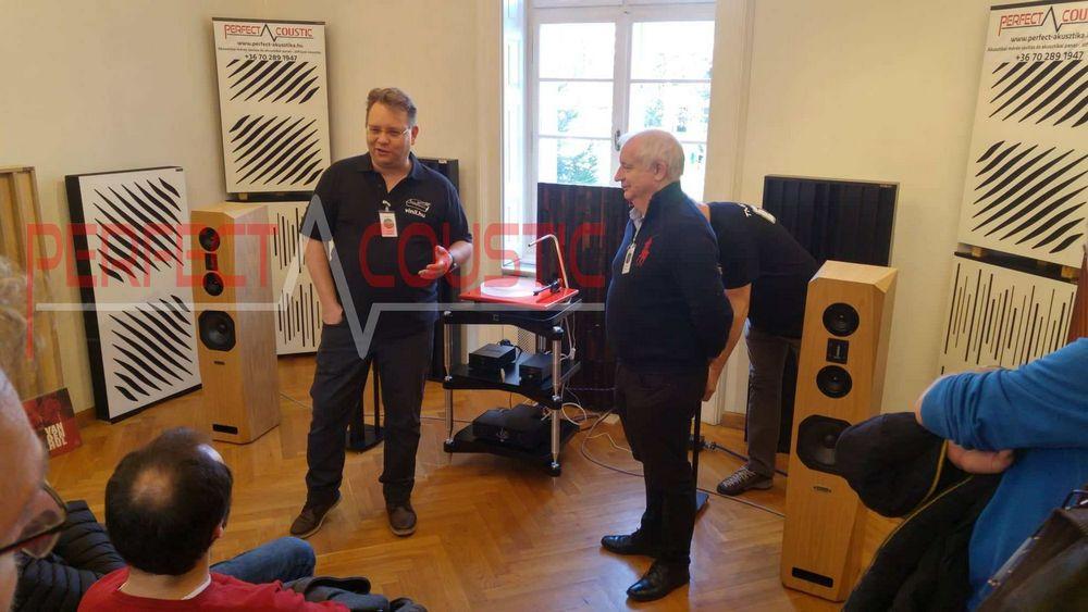 Diffusor Akustikplatten in Baraby Gabeln...bass trap