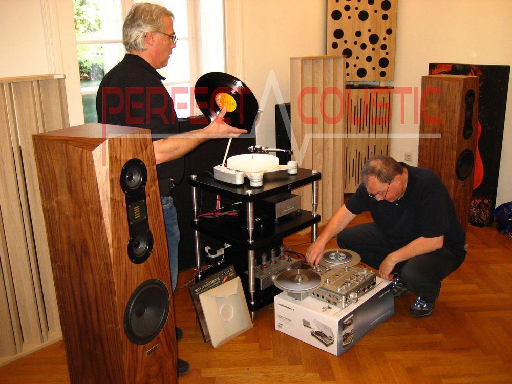 Diffusor Akustikplatten in Baraby Gabeln..