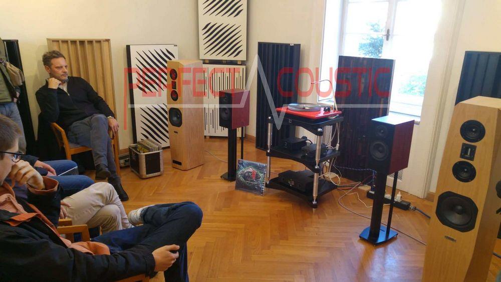 akustik Diffusor , Akustikplatten in Baraby Gabeln.