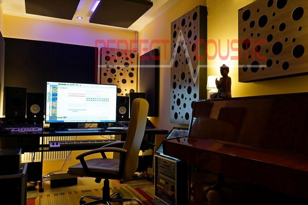 Diffusor Frontplatte bass absorber in einem Haus....