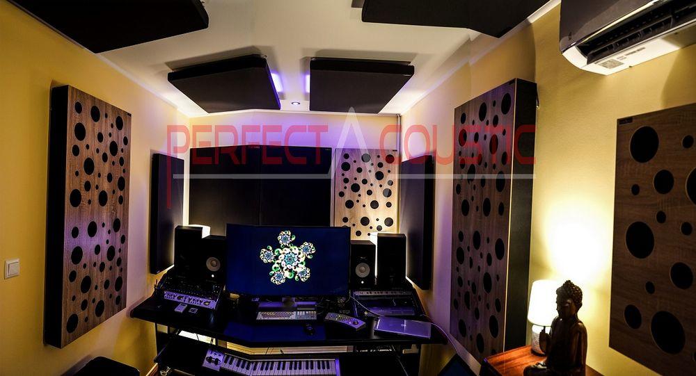 Diffusor Frontplatte Akustikplatte in einem Haus-Schallabsorber