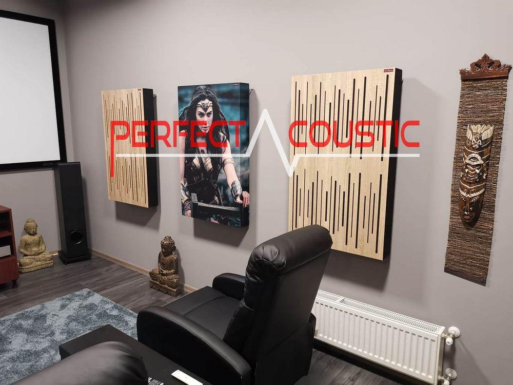 Diffusor Frontplatte Akustikplatten für Wände-absorber