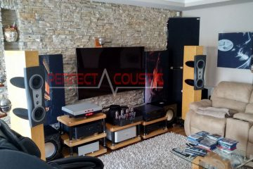 Foto der Bassfallenplatzierung-akustik abasorber