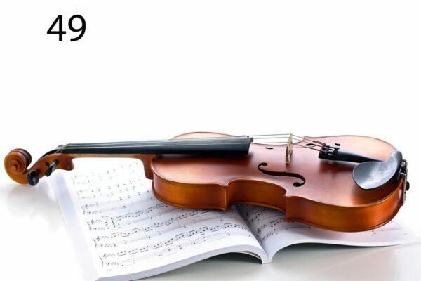 Fotoakustikplatte mit Geige