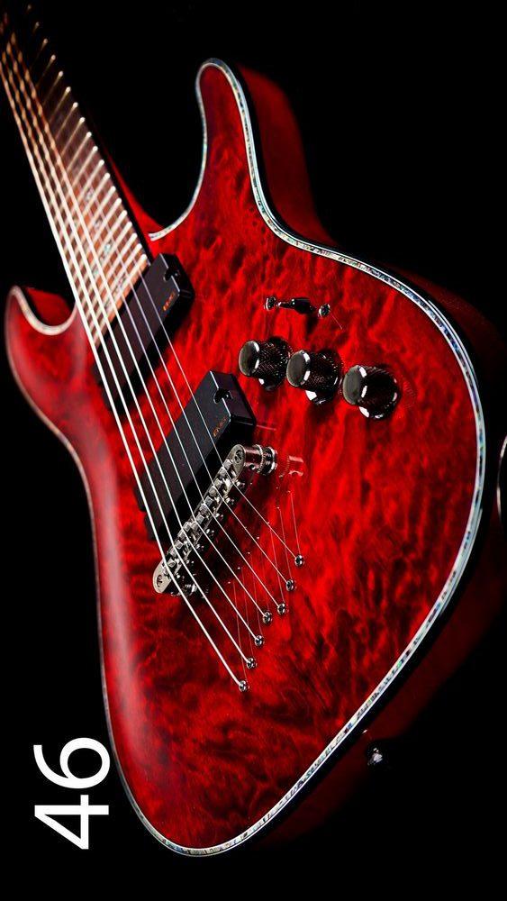 Fotoakustikplatte mit Gitarre