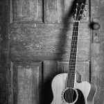 Fotoakustikplatte mit Gitarre....