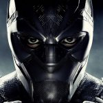 Fotoakustikplatte mit schwarzem Panther