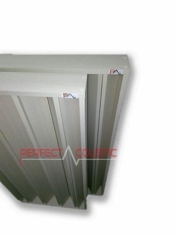 Säulen-Akustikdiffusor weiß