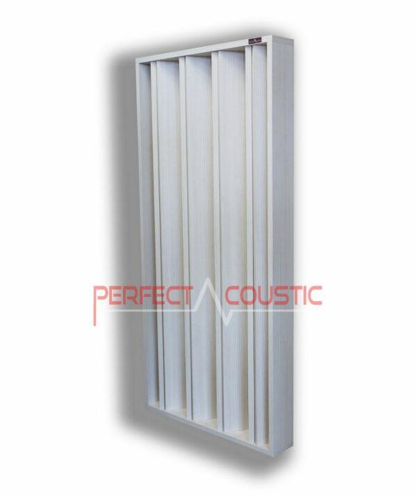 Säulen-Akustikdiffusor weiß..