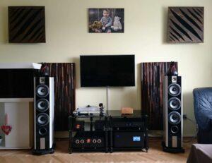 akustik diffusor am Lautsprecher-Akustikplatte mit Diffusor-Raumakustik