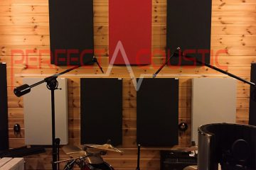 Studioakustik auf professionellem Niveau-Breitband akustikplatten