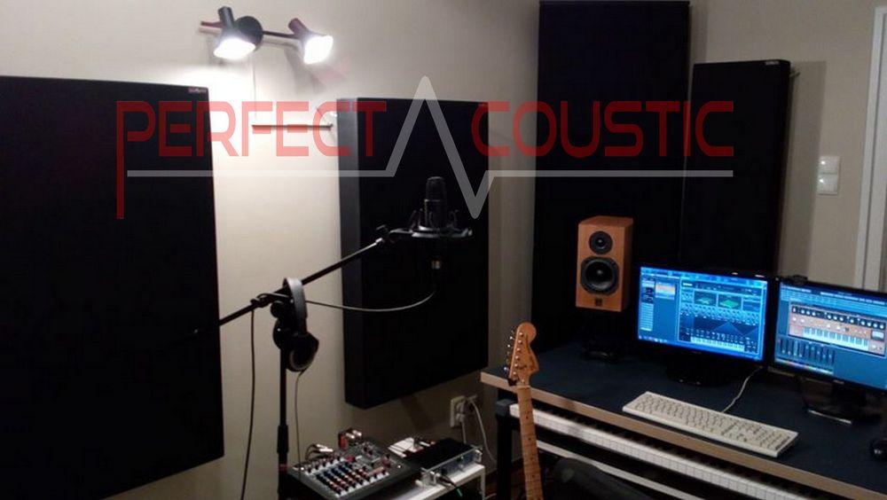 Studioakustik in kleinen Räumen und bass trap