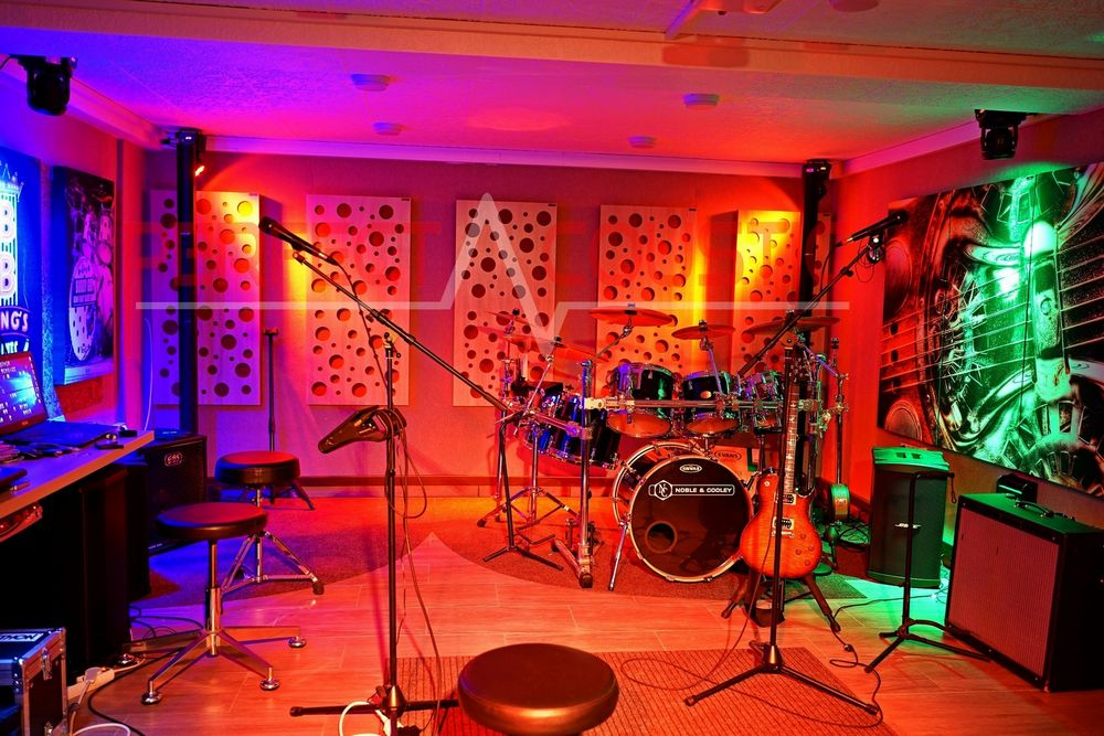 Studioakustik mit Perfect Acoustic Akustikplatten-Heimstudio