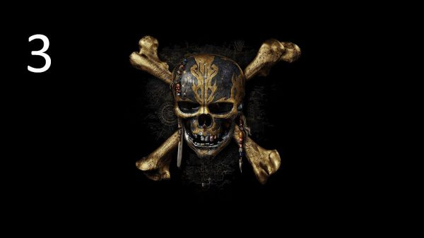 fotografische Akustikplatte Pirat