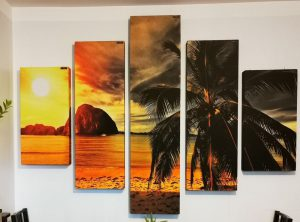 printed acoustic panel, bass trap printed, sound absorbing panel