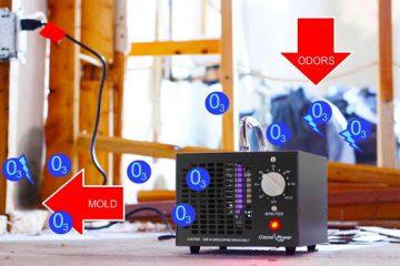 Ozondesinfektion der Akustikplatte