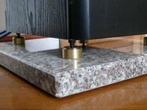 Lautsprecherplatten Granit- und Kalksteinplatten