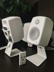 8010A-Weißmonitor