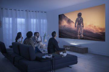Samsung-Premiere-LSP9T-Projektor in voller Größe