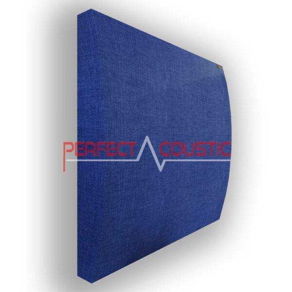3D gemusterte Akustikplatte blau