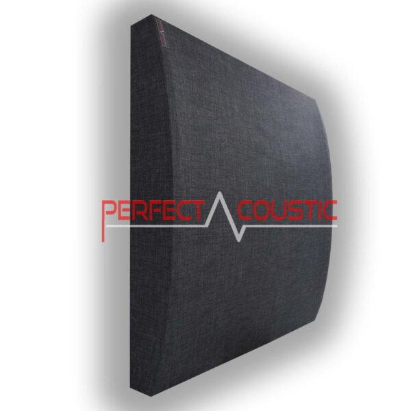 3D gemusterte Akustikplatte grau