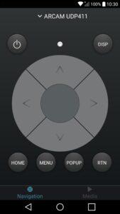 Arcam-Control-Anwendung-für-Android