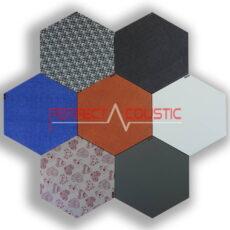 Sechseckige Akustikplatten-Farben
