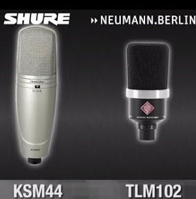 Shure-or-Neumann-Mikrofone