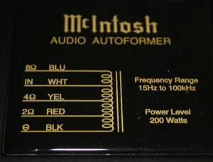 mcintosh-autoformer-technologie