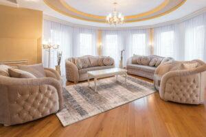 Luxury Harmony braunes Muster 12wsw-1 schallabsorbierender Teppich