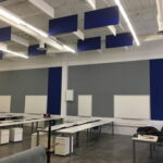 ceiling-panels-blue-in-a-hall