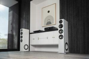 D15-Lautsprecher im Zimmer