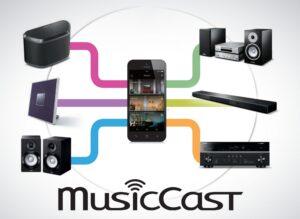 MusicCast-Anwendung